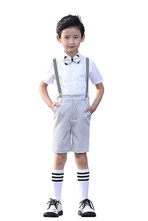 Yuanlu - Traje - para niño blanco blanco 2 años: Amazon.es: Ropa y ...