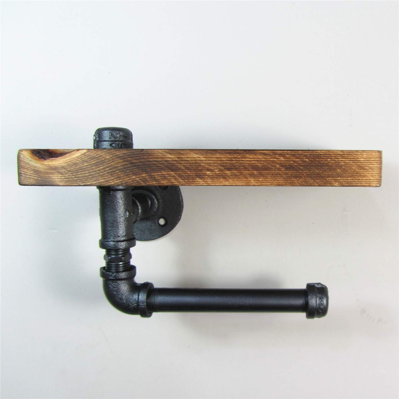 Amazon.com: Soporte de pared madera estante de ...