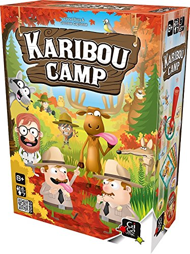 Karibou Camp Board Game