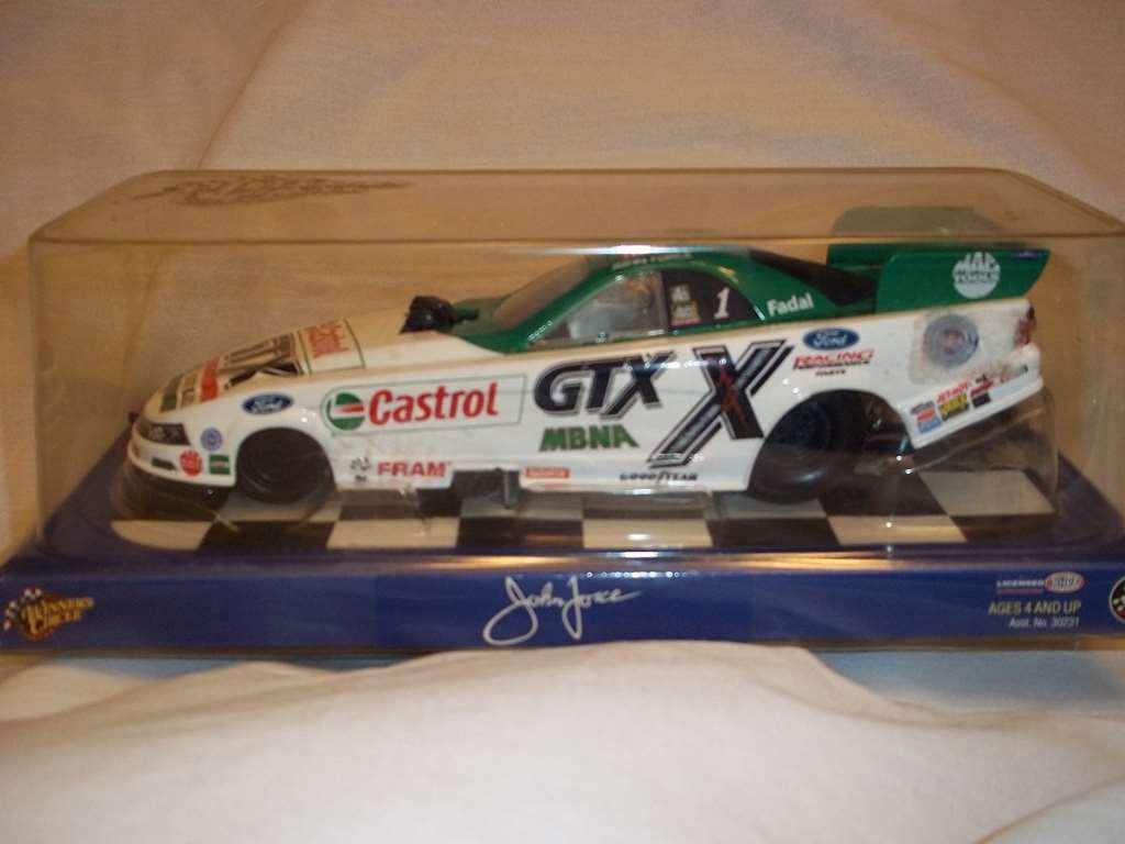 WINNER CIRCLE CASTROL GTX DRIVE HARD JOHN FORCE