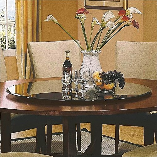 Steve Silver Avenue 40 inch Glass Lazy Susan