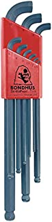product image for Bondhus 16599 Set of 9 Balldriver Stubby L-wrenches, sizes 1.5-10mm
