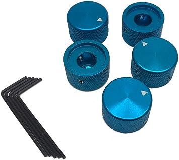Shaft Potentiometer Rotating knobs for 6 mm in Diameter 5Pcs Speaker Control knob Power Amplifier knob Diameter 15 mm