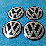 VOLKSWAGEN VW Sticker Aluminum Size 90mm Emblem Decal Logo Set of 4pcs