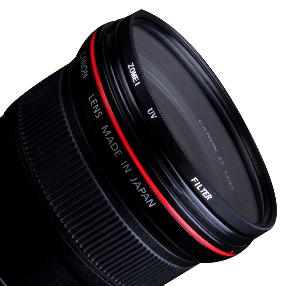 ETbotu Filtro Protezione dellobiettivo con Filtro UV ultravioletto ZOMEI per Fotocamera Reflex Digitale 86mm