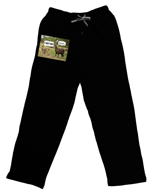 TooLoud Angry Standing Llamas Adult Lounge Pants