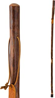 """product image for Brazos 58"""" Free Form Maple Wood Walking Stick Hiking Trekking Pole, Made in the USA"""