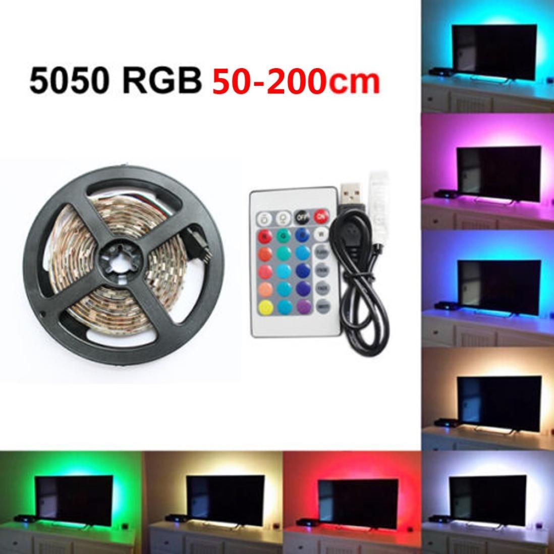 Amazon com: FTXJ TV LED Light Strip, 30 LED TV Backlight