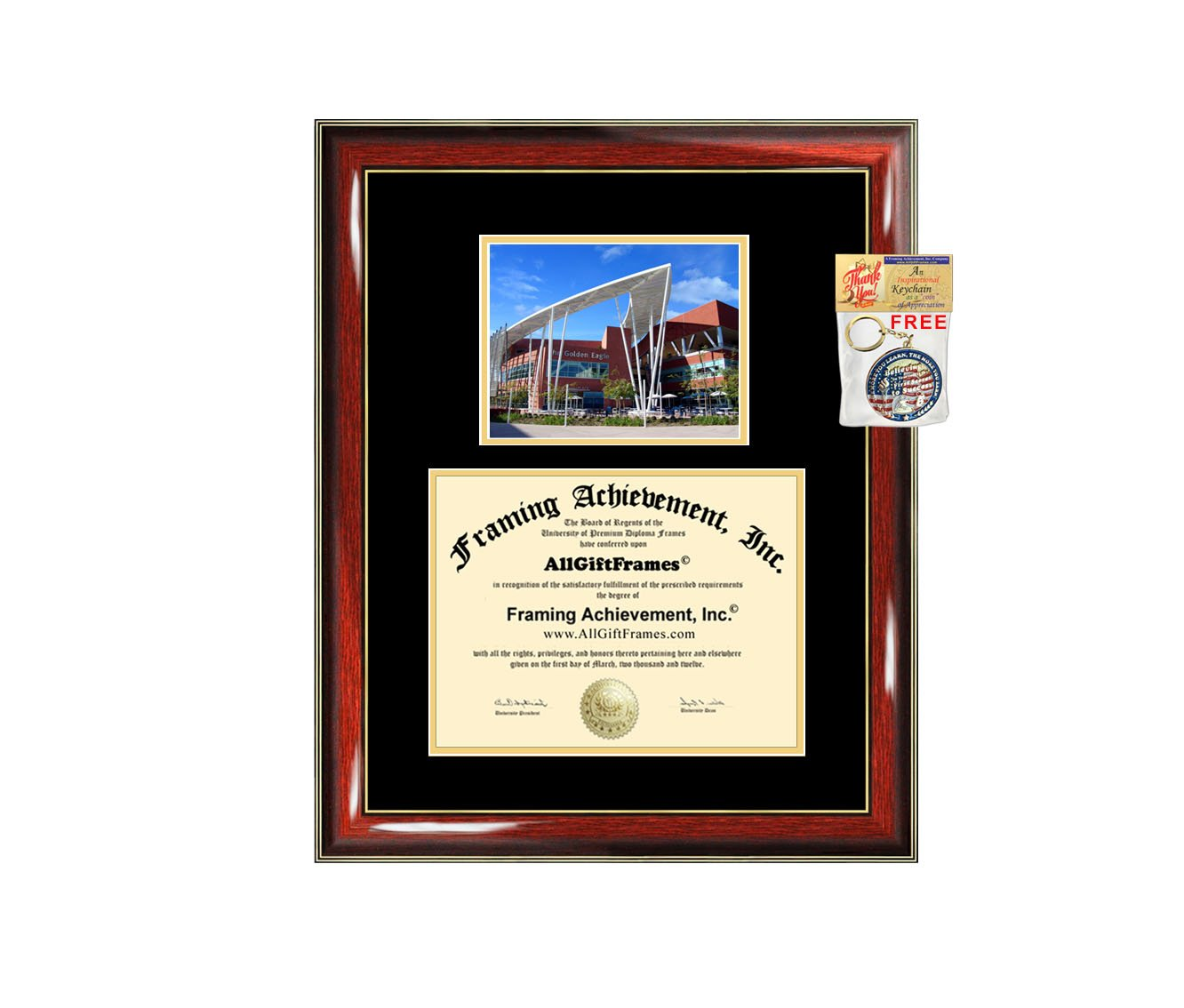 California State University Los Angeles Diploma Frame CSULA Graduation Degree Frame Matted Campus College Photo Graduation Certificate Plaque University Framing Graduate Gift Collegiate