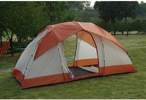 FXX Guo Outdoor Products Outdoor 5-8 Tiendas Dobles, Reuniones Familiares, Camping, Tiendas de campaña, Dos Habitaciones, Durable al Aire Libre, Plegable, Tiendas de campaña,5-8 Persona,A: Amazon.es: Deportes y aire libre