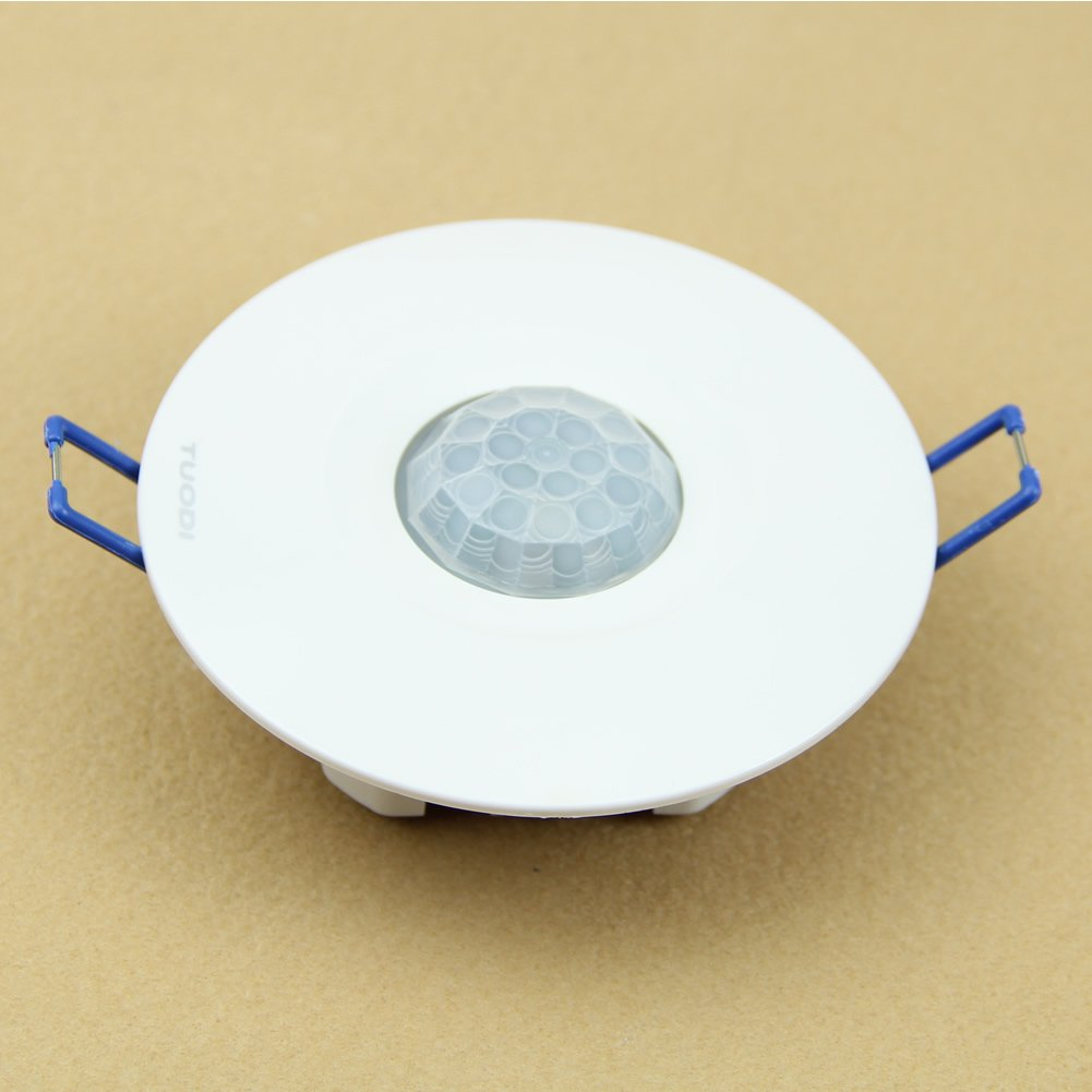 Amazon.com: Estone® 220V Recessed PIR Ceiling Occupancy Motion Sensor Detector Light Switch: Home Improvement