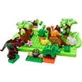 MagiDeal Dinosaur Jurassic Theme Plastic Building Block Toy for Kids Set of 40 Pcs