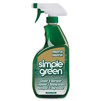 Simple Green Biodegradable Degreaser Cleaner -Liquid Solution -24 fl oz  (0 8 Quart) -White