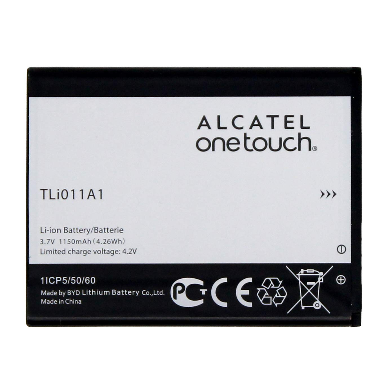 Original Alcatel Battery TLi011A1 for Alcatel OneTouch A463 Pixi Glitz  Tracfone 1150mAh - 100% OEM