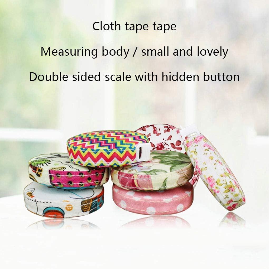 Fornateu Retro Sewing Tape Measure Retractable Soft Measure Tape Sewing Tailor Cloth Body Measurement Ruler