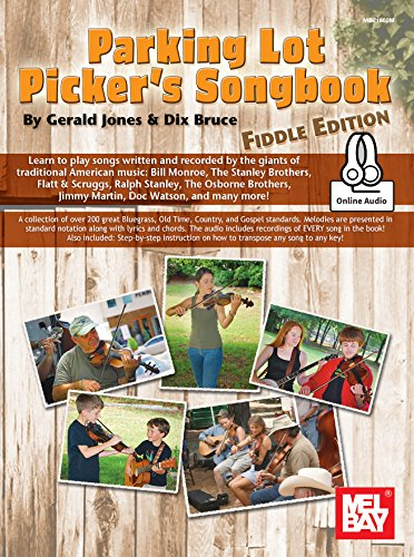 Parking Lot Picker's Songbook - Fiddle Edition with Online Audio Access