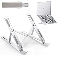 Portable Foldable Laptop Stand with Storage bag,Collapsible Laptop support frame,Laptop cooling bracket,Adjustable…