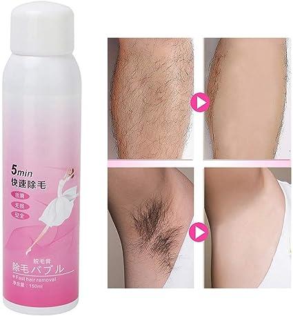 Spray para depilación, removedor de cabello, crema depilatoria ...