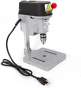 Taladro de columna 1 – 10 mm fresadora eléctrica taladro de mesa ...