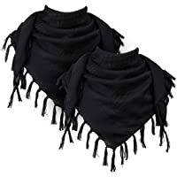 Mens And Women Winter Fashion Scarf Vector Botanic Black Silhouette Floral Seamless Long Plain Warm Soft Scarves For Men Cotton Scarves For Winte