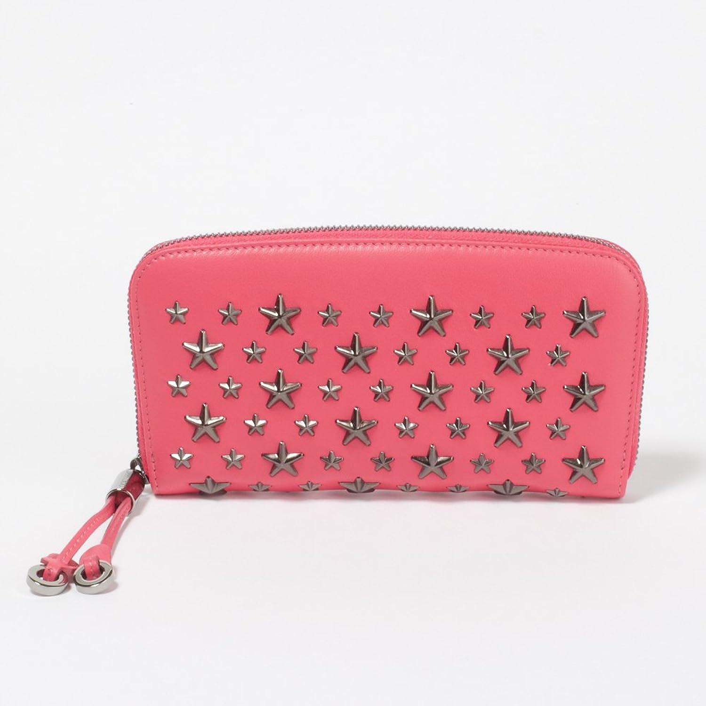 (ジミー チュウ) Jimmy Choo 長札入財布 #FILIPA CST HOT PINK ピンク 並行輸入品 B01MUE5RBG
