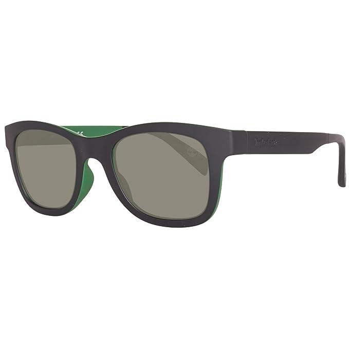 Timberland Sonnenbrille TB9080 5098R, Gafas de Sol para Hombre, Negro (Schwarz),