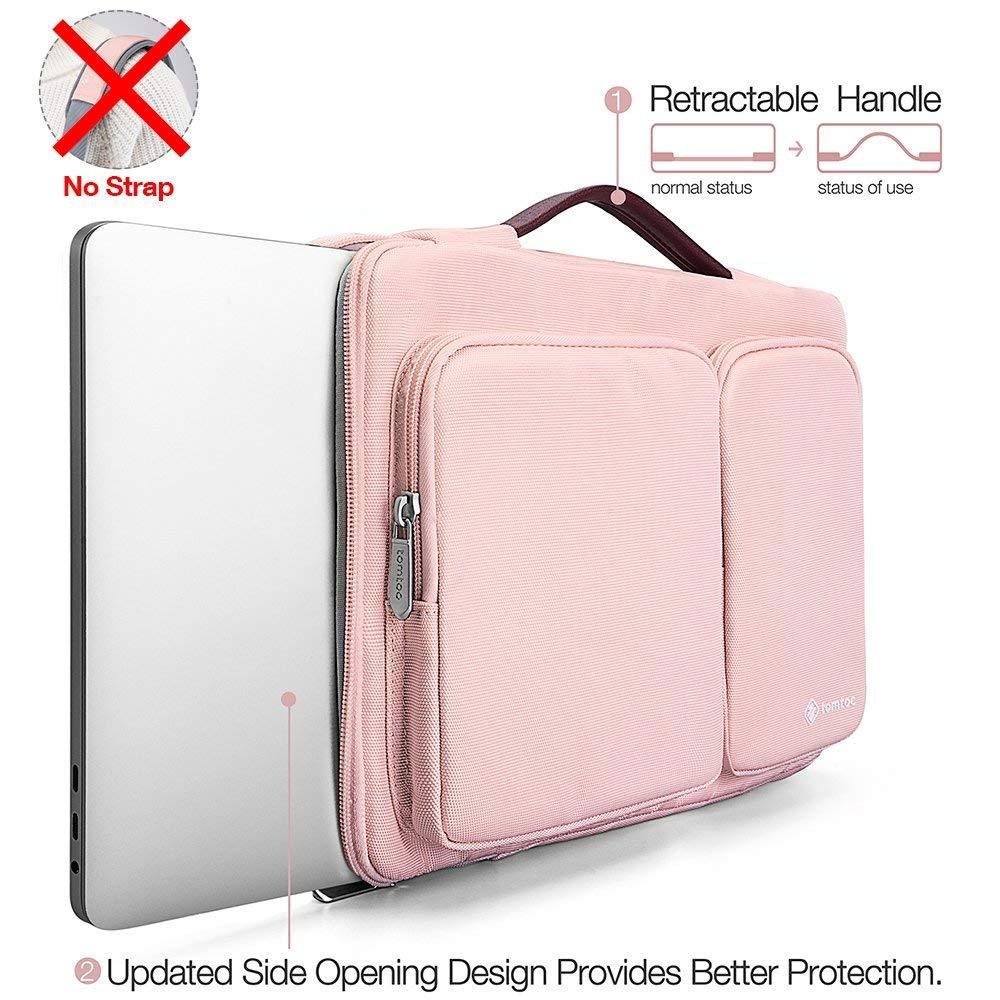 e8faa27a2d tomtoc 【14 Pouces】 Sacoche Ordinateur Portable pour 14 Pouces ThinkPad Dell  HP Acer ASUS Chromebooks Ultrabooks ...