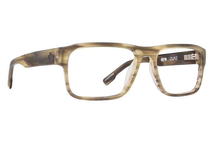 64d36b8acd41d Spy Optic Duke Mens Eyeglass Frames - Matte Green Smoke at Amazon Men s  Clothing store