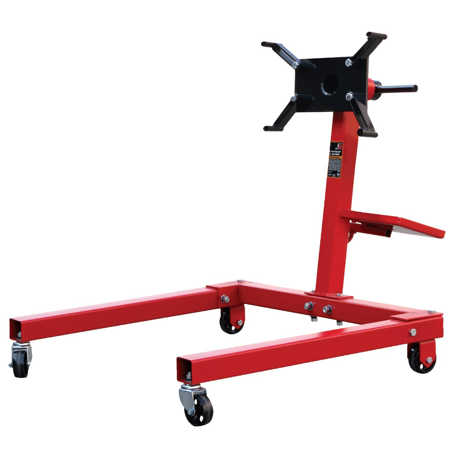Torin Big Red Steel Rotating Engine Stand: 1,250 lb Capacity by Torin