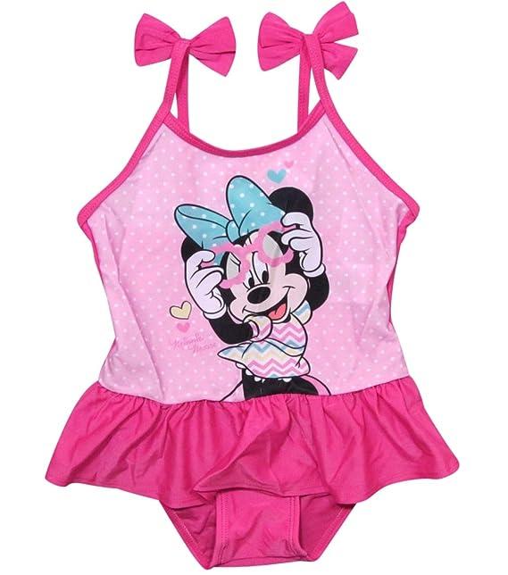 Minnie Mouse - Traje de una Pieza - para niña: Amazon.es ...