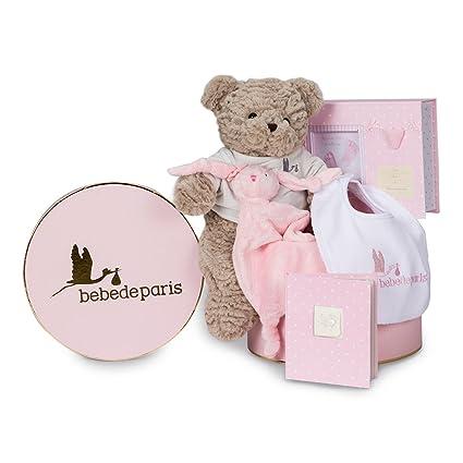 Canastilla bebé Recuerdos Esencial - caja regalo recién nacido ...