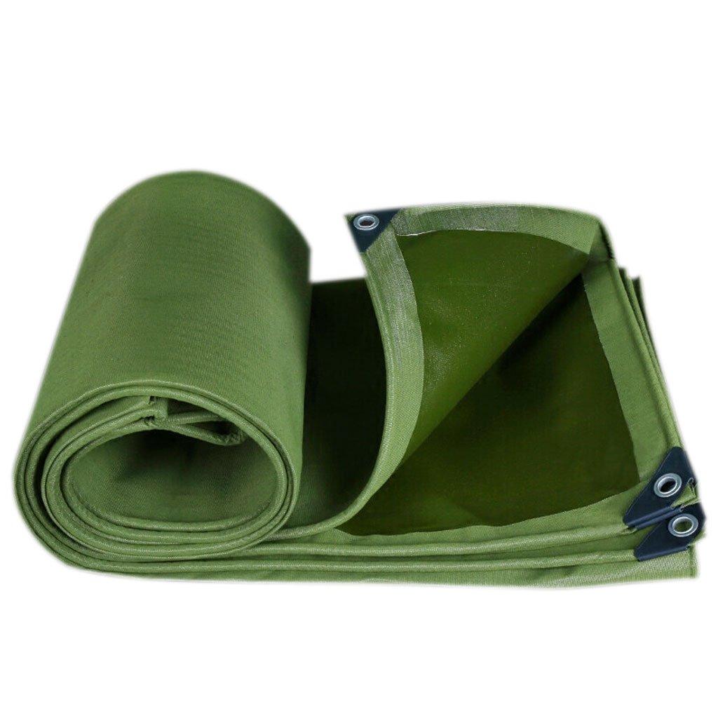 HF 陸軍グリーン色の繊維プラス厚い雨布防水日焼け防止10種類のサイズは倉庫用に使用することができます建設工場工場と企業湾岸埠頭& (サイズ さいず : 3 * 6m) B07FLL7DTH 3*6m  3*6m