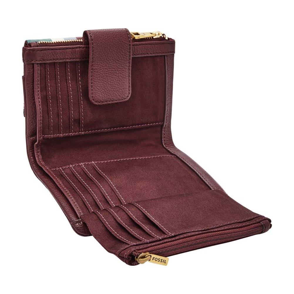 c2b2c41072f1d4 Fossil Geldbörse ELLIS GIFTSET Grau Multi SL7606-258 Damen Portemonnaies  Leder: Amazon.de: Bekleidung