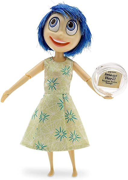 """Disney Inside Out 10/"""" Deluxe Light Up Talking Doll Sadness New in Box!"""