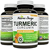 Cheap Turmeric Curcumin Pills for Women and Men with Natural Antioxidant Capsules , Joint Health Supplement and Immune System Support A Pure Curcumins With BioPerine Black Pepper Extract
