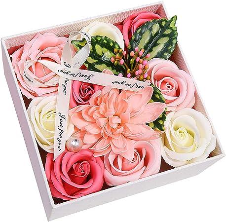 Laat Roses Artificielles En Soie Bouquet De Roses