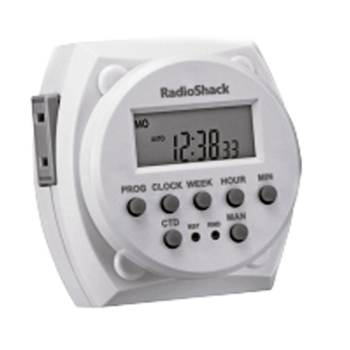 RadioShack® Digital Lamp Timer - Electrical Timers - Amazon.com
