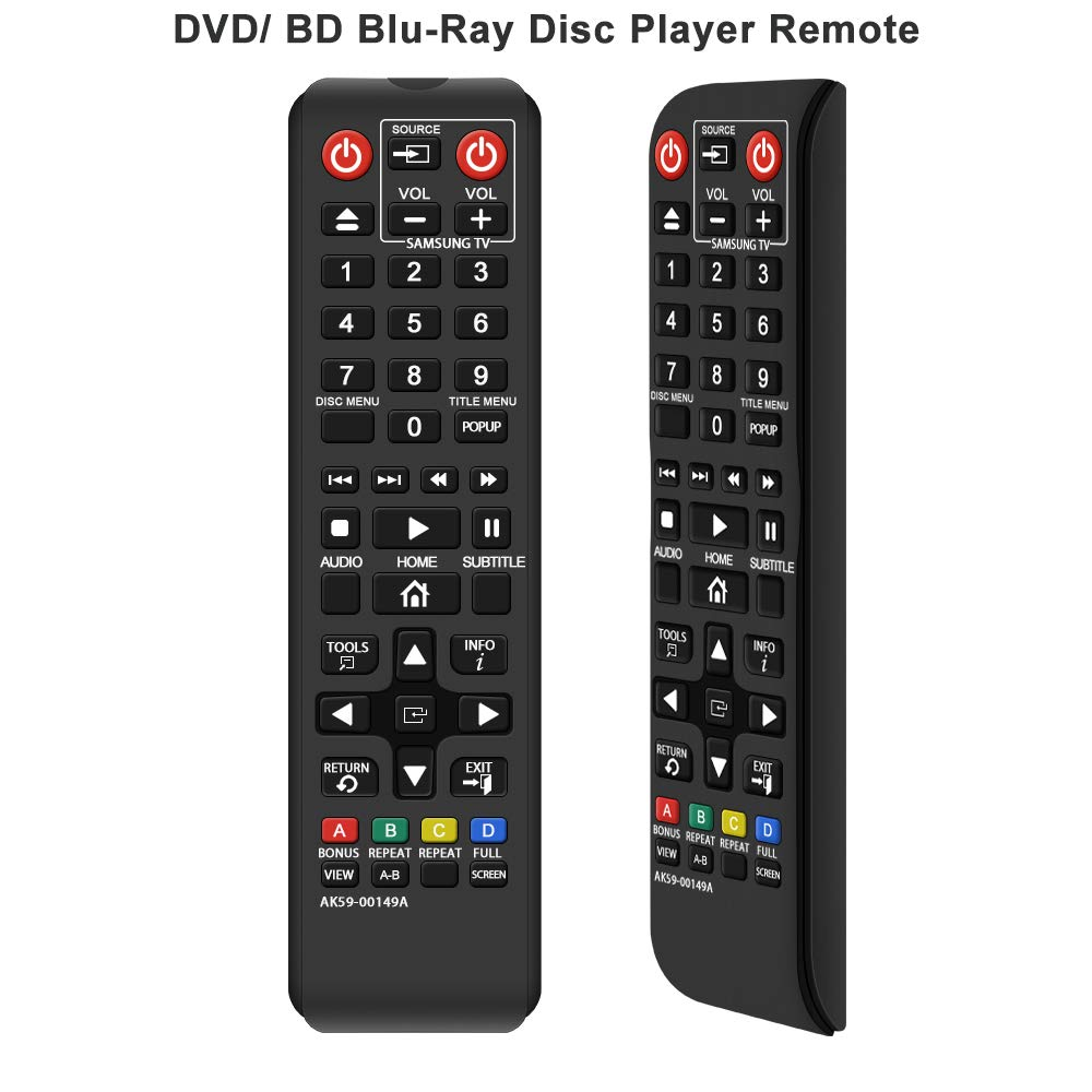 Control Remoto Gvirtue AK59 00149A Samsung DVD BD Blu Ray...