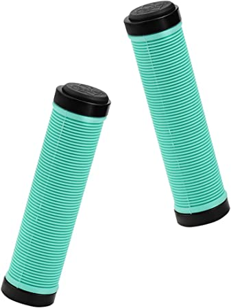 Herrmans Bicycle Grips 101A 95mm Yellow Smile Bicycle Grips Kraton Pair