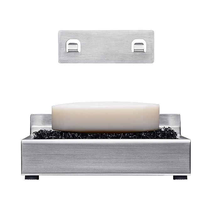 Amazon.com: Kone baño acero inoxidable jabonera Soporte ...