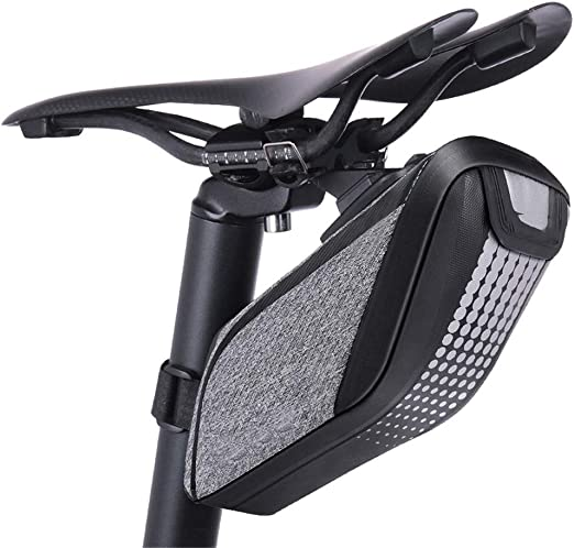 Bolsa para sillín de Bicicleta, Resistente al Agua, Fibra de ...
