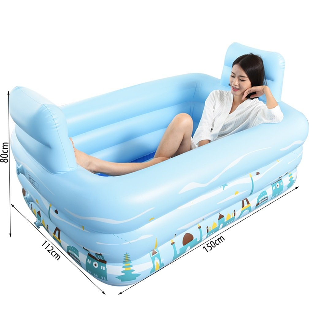 Amazon Com Double Couples Inflatable Bath Tub Bathing Shower