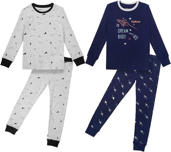 Various Age Sizes 3 4 5 6 /& 8 Girls Boys Fleece Pjs Pyjamas Nightwear
