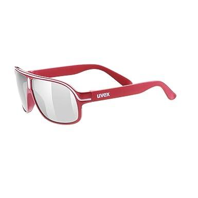 Uvex Gafas de Sol SGL 502 Rojo ÚNICA: Amazon.es: Ropa y ...