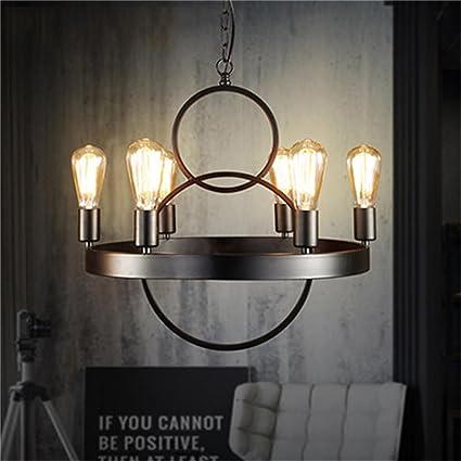 Araña de luces- Americana industriales Antigua Nostalgia ...