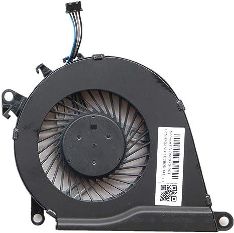 3CTOP - Ventilador de refrigeración para CPU para HP OMEN 15-AX 15 ...