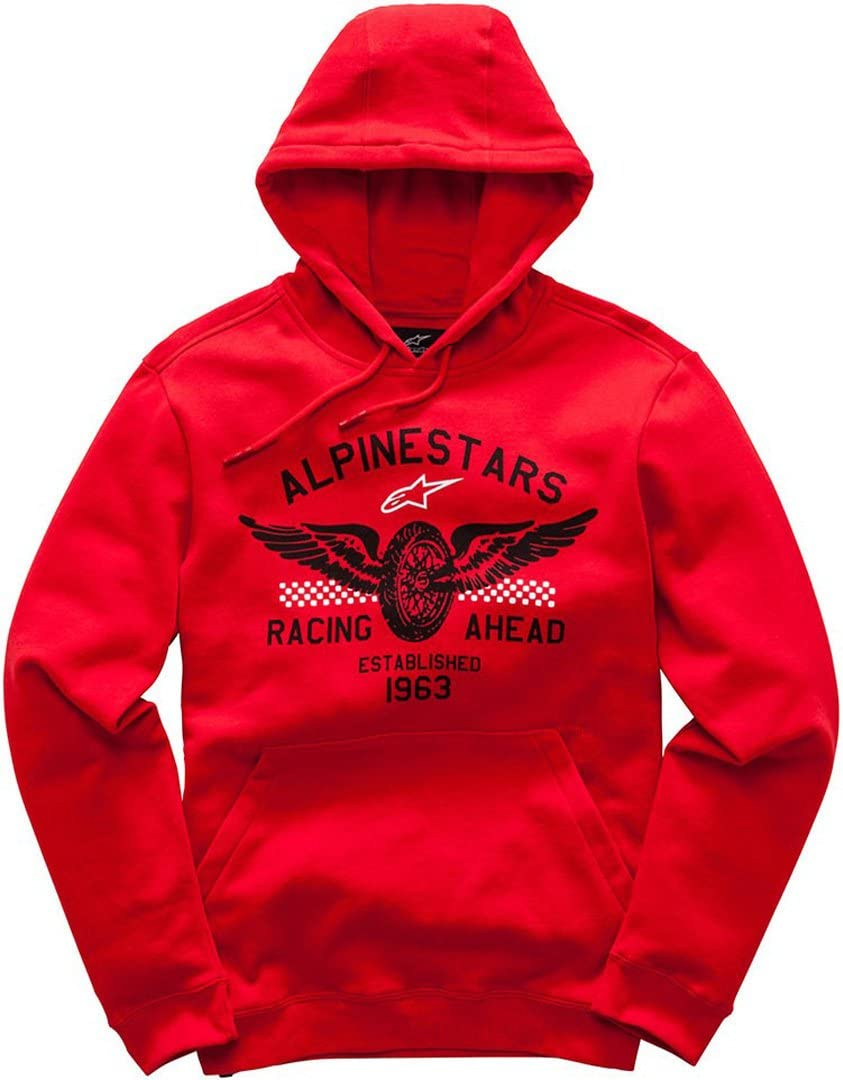 Alpinestars Mens Mach 1 Long Sleeve Fleece Hoodie