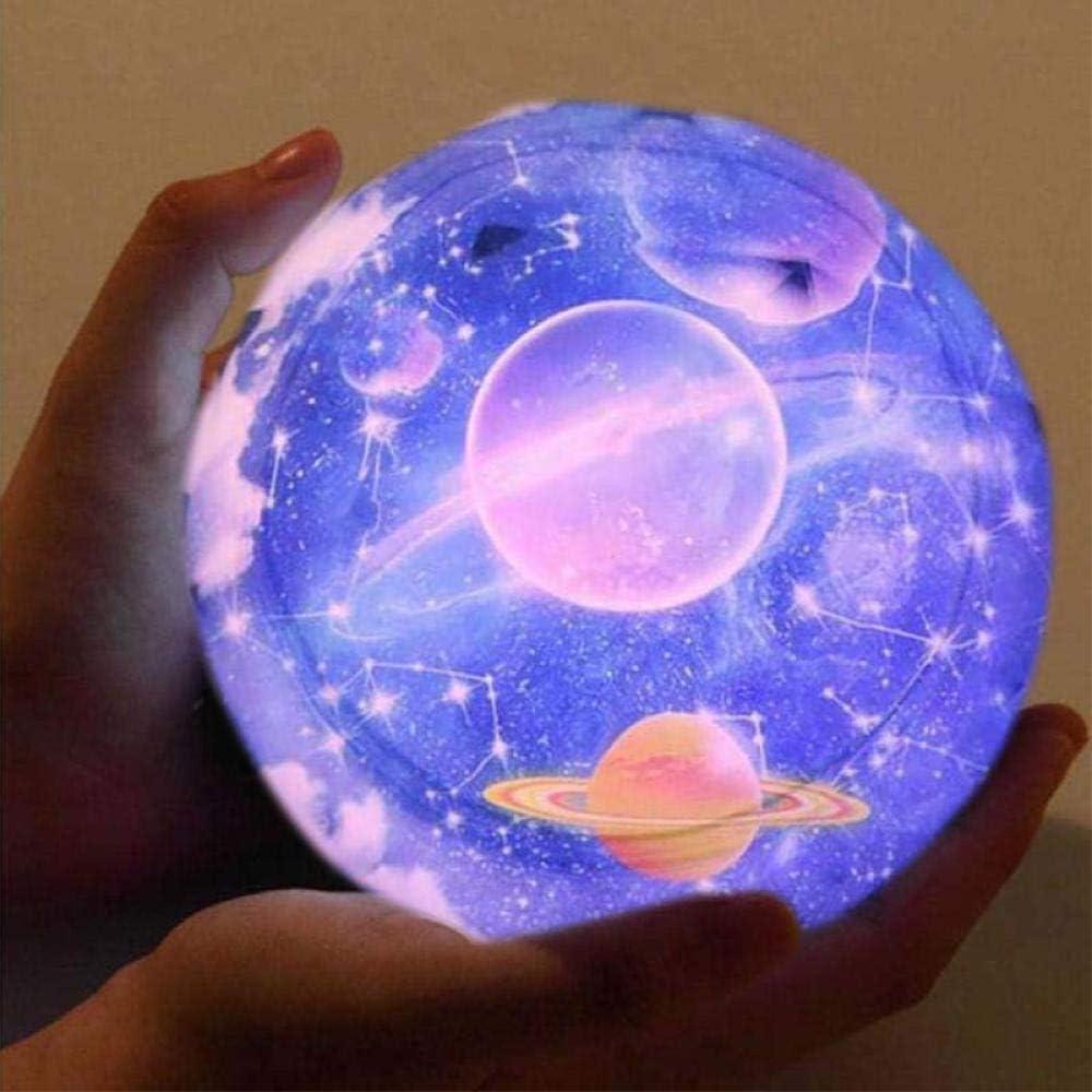 Cielo Estrellado Luces Nocturnas Luna Planeta Universo Proyector ...