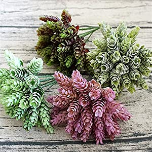 Heads Orchid 30Pcs/1 Bundle Simulation Green Plant Cheap Artificial Plastic Flower For Home Table Decorative Wedding 53