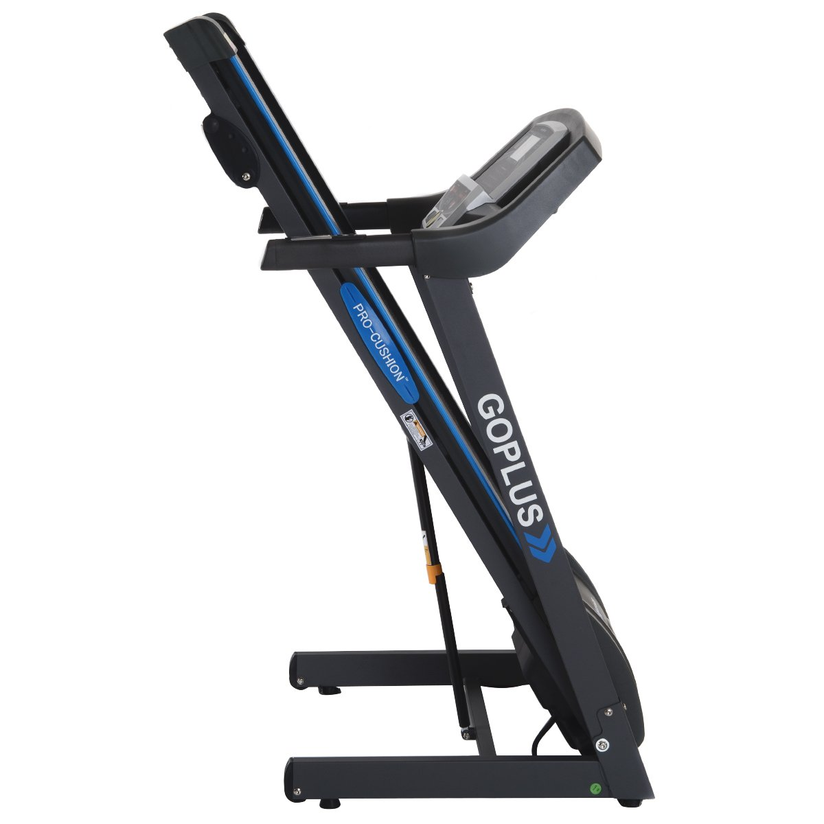 Goplus 2.25HP Folding Treadmill Electric Support Motorized Power Running Fitness Jogging Incline Machine g Fitness Jogging Incline Machine Fitness Jogging Incline Machine Black Jaguar Ⅱ(Classic) by Goplus (Image #5)